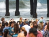 Bethany Hamilton drew large crowds at the 2013 Supergirl Pro in Oceanside, California. Surf photo by Chris Grant, Jettygirl Online Surf Magazine.