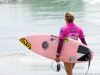 Leila Hurst, a quiet walk before her heat at the 2013 Supergirl Pro in Oceanside, California. Surf photo by Chris Grant, Jettygirl Online Surf Magazine.