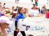Japan's Reika Noro concentrates on her upcoming heat at the 2013 Supergirl Pro in Oceanside, California. Surf photo by Chris Grant, Jettygirl Online Surf Magazine.