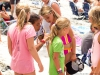 Silvana Lima makes time to sign autographs for young fans at the 2013 Supergirl Pro in Oceanside, California. Surf photo by Chris Grant, Jettygirl Online Surf Magazine.