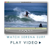 Serena Brooke surf video clip by JettyGirl Online Surf Magazine