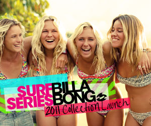 Billabong Surf Series 2011 Collection Launch