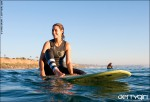 Afternoon session with Kassia Meador, surf photo by Chris Grant