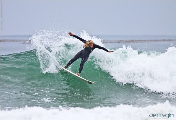 Taylor Pitz surf photo by Chris Grant, JettyGirl Online Surf Magazine