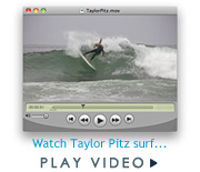 Taylor Pitz surf video on JettyGirl.com