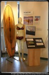 Margo Oberg exhibit. Photo courtesy of the California Surf Museum.