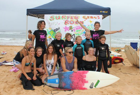 RA Girls Surf Show