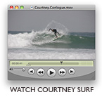 Courtney Conlogue - JettyGirl Surf Video Clip
