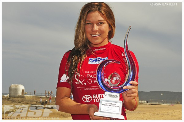 Coco Ho, winner of the 2011 Legendary Pacific Coast Pro. Photo © ASP / Bartlett