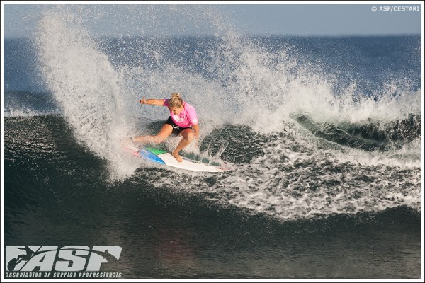 Stephanie Gilmore. Photo © ASP / Cestari
