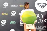 Carissa Moore, winner of the 2011 Roxy Pro Gold Coast. Photo © ASP 2011 / Kirstin