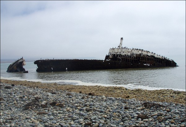 Shipwreck on the Point