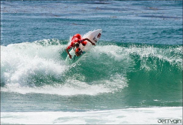 Lakey Peterson surf photo by Chris Grant of JettyGirl Online Surf Magazine