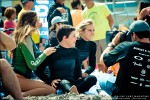 Pre-heat preparations with Natalie McPeek, Sophia Hurst and Leila Hurst. Photo by Chris Grant, Jettygirl.com