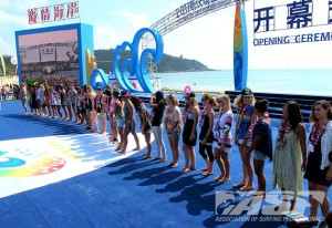 SWATCH Girls Pro China 2011. Competitors. Photo © ASP/Will Hayden-Smith.