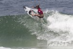Arnette World Junior. Heidi Palmboom (ZAF) surfed well but couldn't get past Phillippa Anderson in the quarterfinals. Photo ©ASP/Rowland.