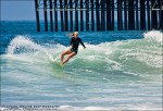 Smooth cutback by Heather Jordan. Surfing photography by Chris Grant, Jettygirl Surf Magazine.