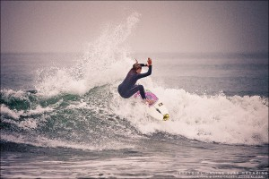Chandler Parr surfing Oceanside. Photo by Chris Grant of Jettygirl Online Surf Magazine