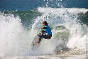Bec Woods, Nike US Open of Surfing. Photo by Chris Grant, Jettygirl Online Surf Magazine.