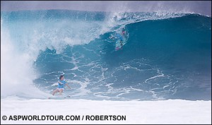 Bec Woods, Roxy 2005 Fiji. Photo © ASP/ROBERTSON