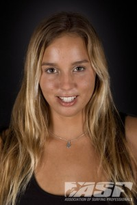 ASP World No. 2 Sally Fitzgibbons. Photo © ASP/Kirstin. 2012 Association of Surfing Professionals (ASP) Surfer Profiles