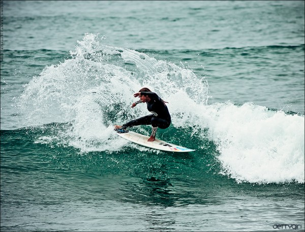 Sofia Mulanovich, early morning snap at Lowers, California. Surf photo © Chris Grant, Jettygirl.com