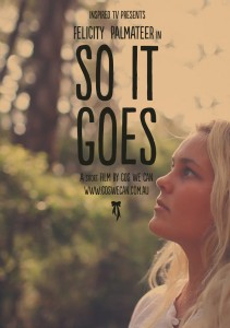 So It Goes Poster, Felicity Palmateer - Jettygirl Online Surf Magazine