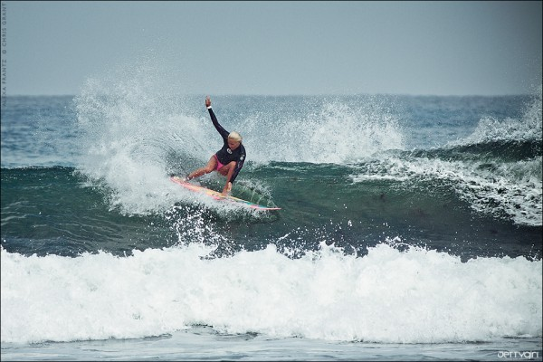 Alexa Frantz, La Jolla. Surf photo by Chris Grant, Jettygirl Online Surf Magazine.