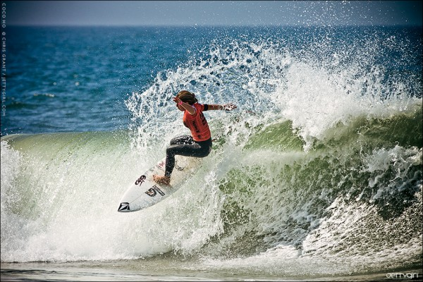 Coco Ho, Nike US Open of Surfing, Huntington Beach. Surf photo by Chris Grant, Jettygirl Online Surf Magazine.
