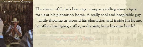 Cuban cigars. Photo © Heather Jordan - http://hethaa.tumblr.com/