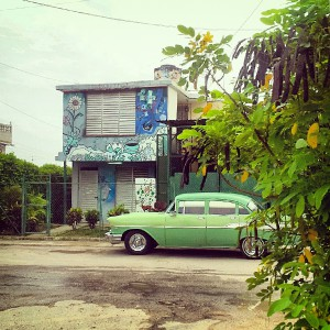 Time travel. Cuba. Photo © Heather Jordan - http://hethaa.tumblr.com/