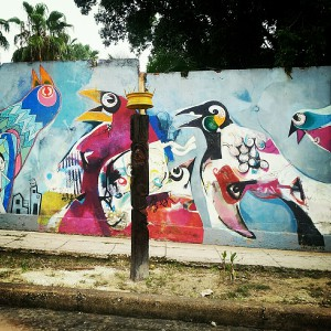 Art in a Habana neighborhood. Photo © Heather Jordan - http://hethaa.tumblr.com/