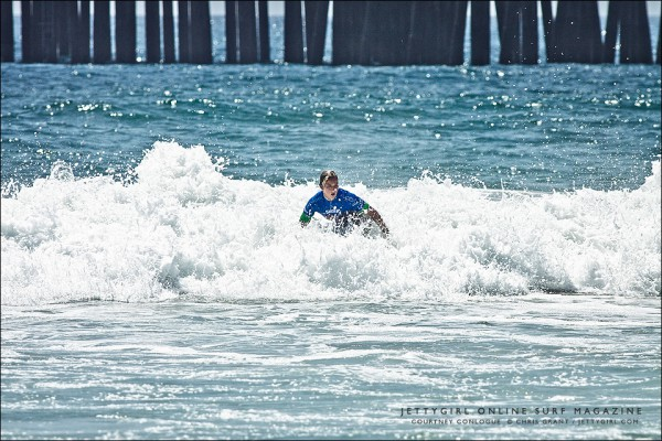 Courtney Conlogue. Frontside air sequence. 2012 Supergirl Pro at Oceanside Pier. Photo © Chris Grant, Jettygirl Online Surf Magazine.