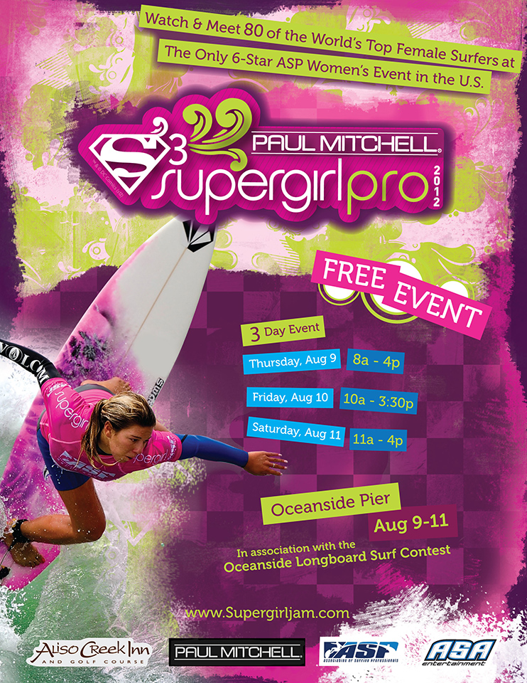 2012 Paul Mitchell Supergirl Pro, Oceanside Pier, August 9-11, 2012