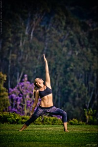 Lindsay Engle, Yoga Instructor and World Champion Surfer