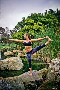 Lindsay Steinriede, ASP Women's Longboard World Champion and Yoga Instructor
