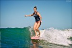 Lindsay Steinriede. Surf photo by Chris Grant, Jettygirl Online Surf Magazine.
