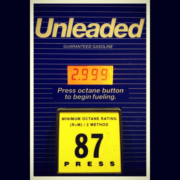 Gas prices in Oklahoma - Project Save Our Surf Eastbound.