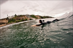 Whomp-O-Rama with Christine Brailsford. Whomp Handplanes. Surf photo by Chris Grant, Jettygirl Online Surf Magazine.
