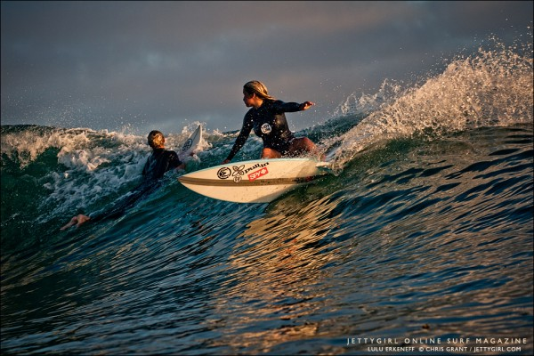 Lulu Erkeneff, Photo Friday. Surf photo by Chris Grant, Jettygirl Online Surf Magazine. Sequence image 2 of 9.