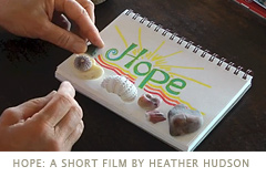 Thumbnail image for Heather Hudson's new short film, Hope