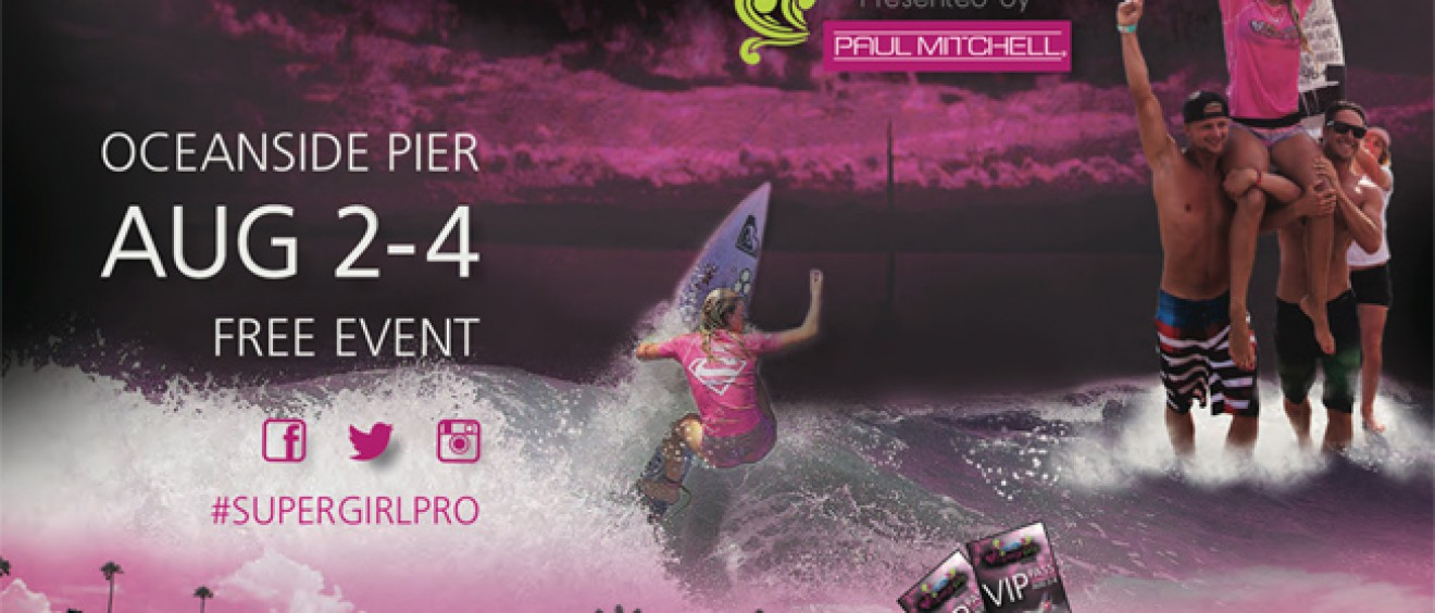 2013 Ford Supergirl Pro Presented by Paul Mitchell - event poster