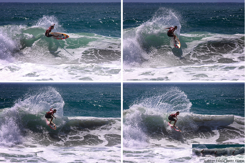 Harley Taich sequence courtesy of Jeff Taich.