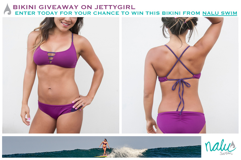 Nalu Swim Giveaway on Jettygirl. Enter today for your chance to win this bikini from Nalu Swim. Deadline to enter is Tuesday, July 30, 2013 at 5pm PST.