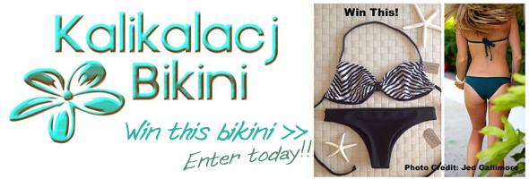 Kalikalacj Bikini Giveaway on Jettygirl Online Surf Magazine - deadline to enter is Tuesday, July 2, 2013 at 5pm PST