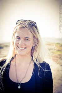 "Tory Gilkerson filming for Birdman Media's all-women surf film, ""Say No More"" - portrait by Chris Grant, Jettygirl Online Surf Magazine"