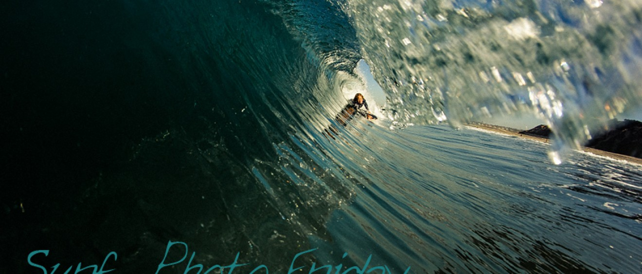 Surf Photo Friday - Bodyboarding with Hawaii's Kamalehua Keohokapu. Surf photo © Chris Grant, Jettygirl Online Surf Magazine