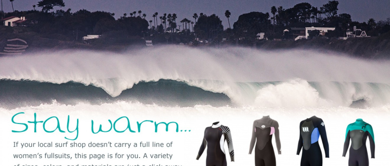 Shop for winter wetsuits from Body Glove, Rip Curl, West, and Xcel