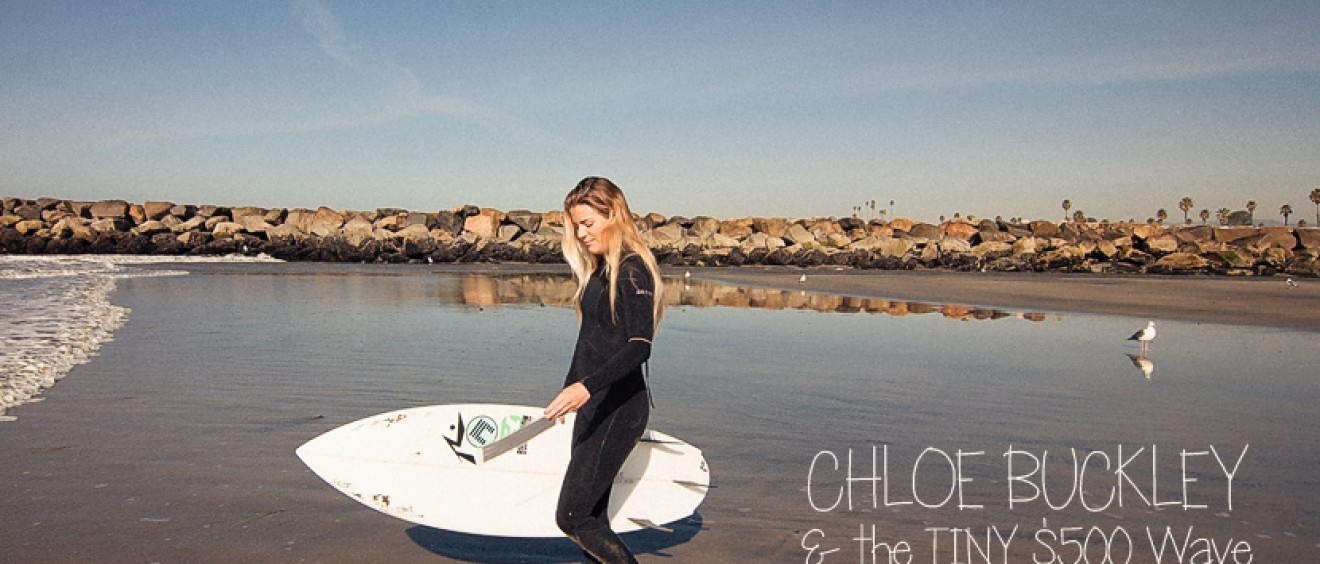 Surf Photo Friday - Chloe Buckley and the Tiny $500 Wave