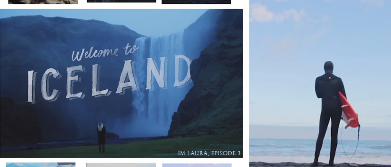 Laura Enever in Iceland. IM LAURA, Episode 3.